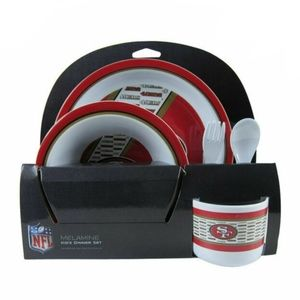 NFL San Francisco 49ers Melamine Dinnerware set